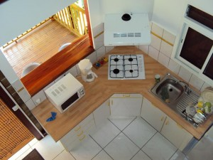 Photo cuisine vue de haut